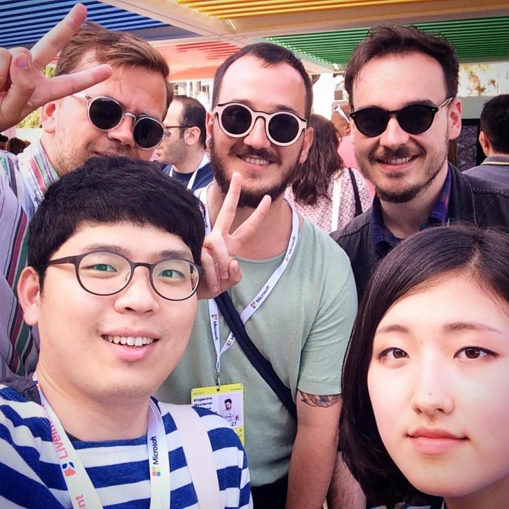 왼쪽부터 Maksimilian, Alejandro, Zlatko  재밌고 친절한 The Pop Up Agency 친구들, 이제와서 보니 다 Hyper Island 출신이었다.