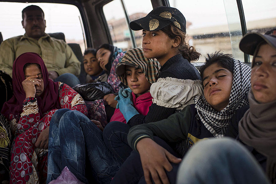 The Displaced ⓒlynseyaddario