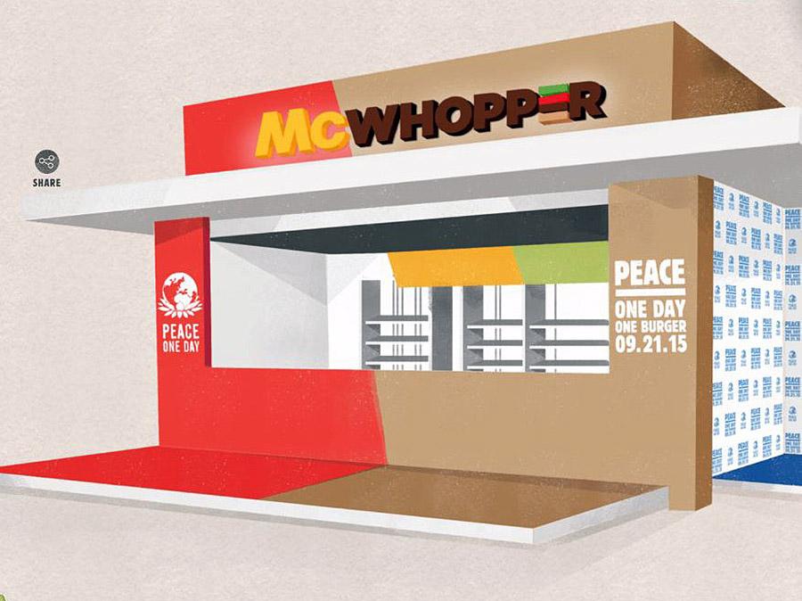 McWhopper 광고 ⓒfox5ny