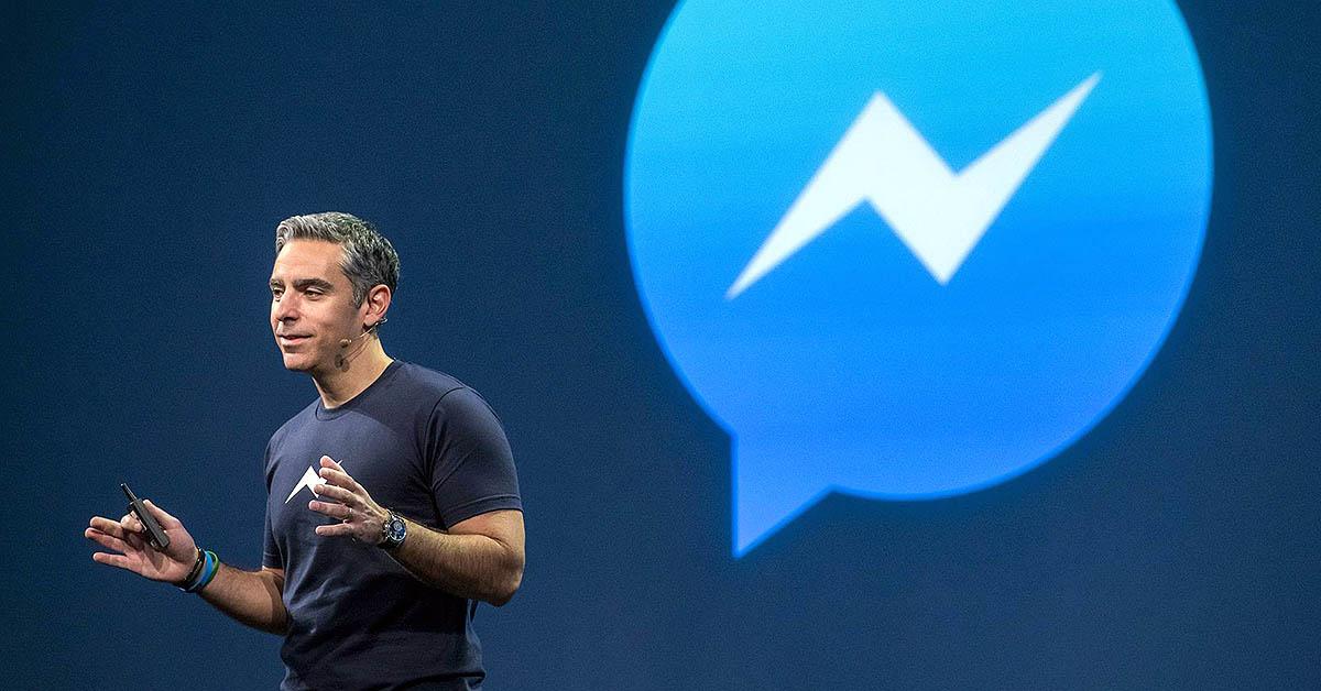 페이스북 메신저의 리더, 데이빗 마커스 © CNBC