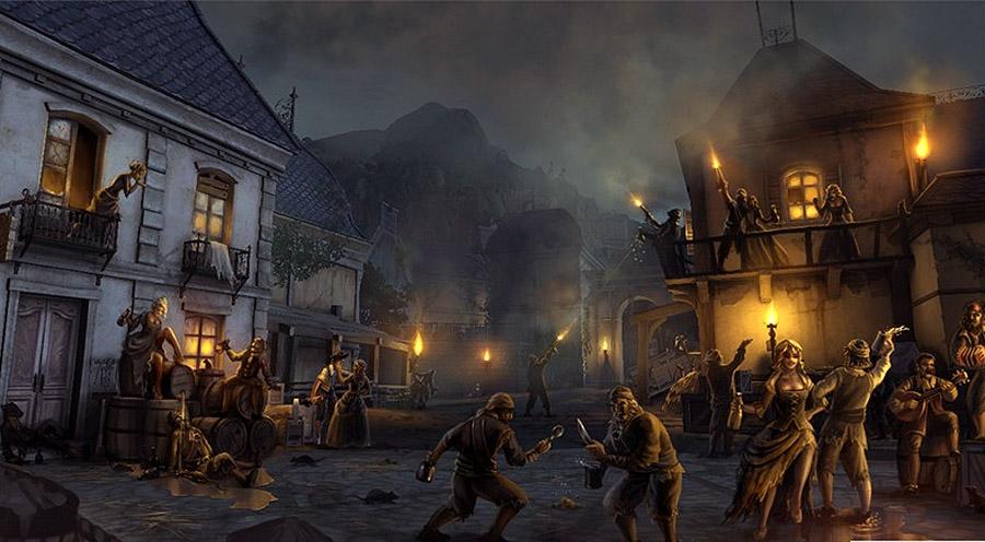 해적들의 마을 토르투가 © Wikia