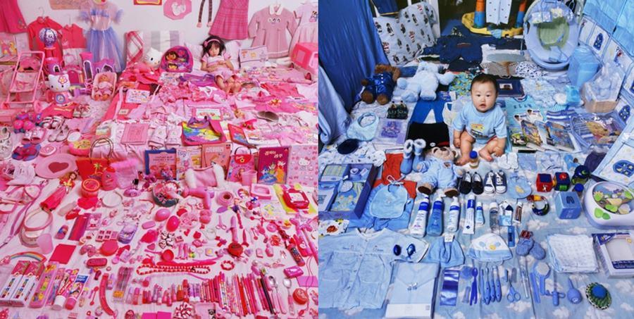 '핑크 앤 블루 프로젝트'(글자 클릭시 이동) - PUBLY. ⓒ윤정미