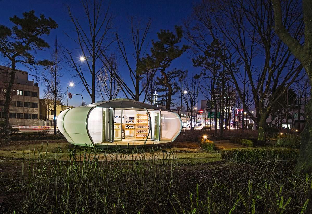 롤링다이스가 기획하여 운영하고 있는 서울혁신파크의 야외 도서관 © 임영준