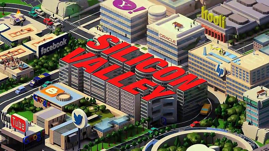 미국 HBO의 유명 TV시리즈 '실리콘밸리' 로고 © HBO