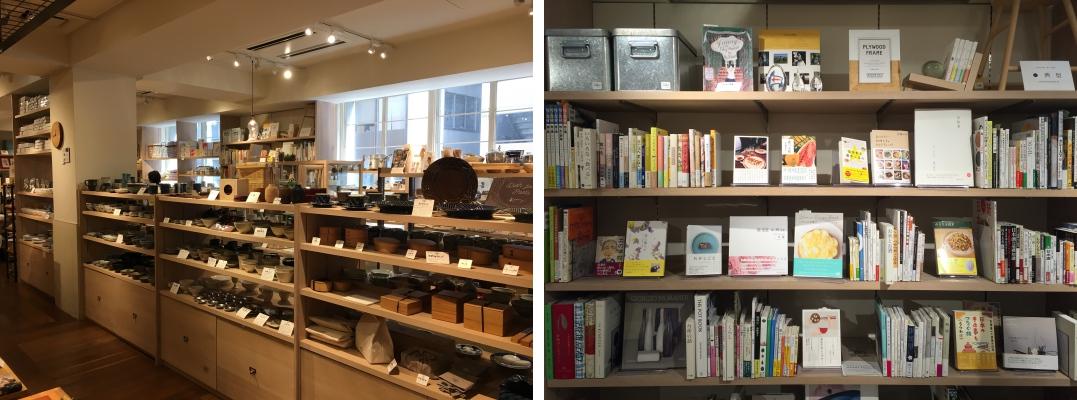 비식품으로 이루어진 2층은 조리 기구, 주방 용품, 책 등 구성이 더욱 다채롭습니다. ⓒ트래블코드