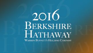 2016 버크셔 해서웨이 - 워렌 버핏을 만나다