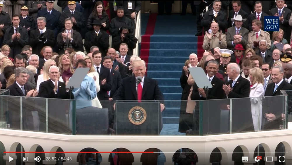 The Inauguration of the 45th President of the United States ©The White House