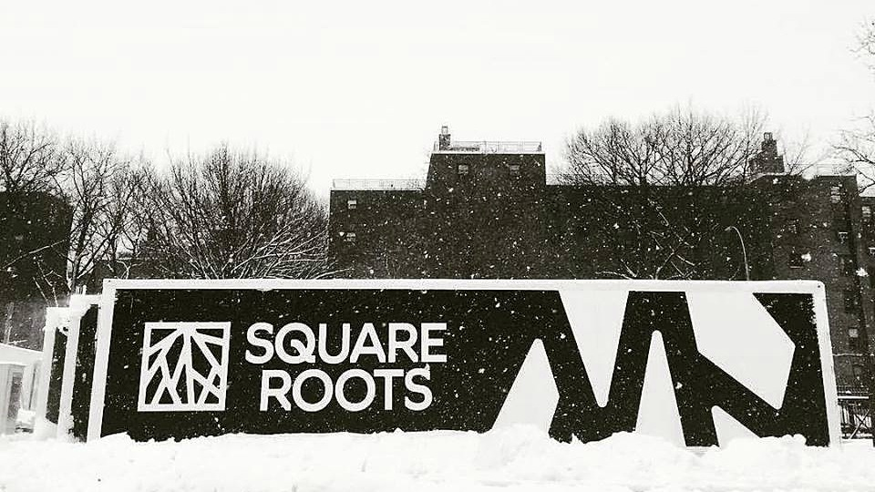 눈오는 컨테이너 농장 ©Tobias Peggs