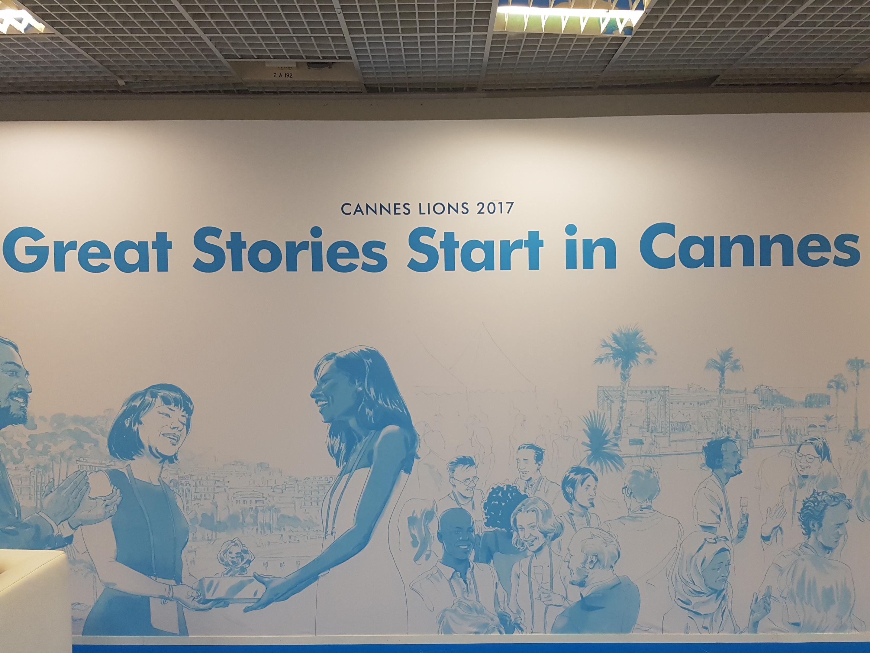 위대한 스토리(Great Stories)가 칸에서 태동하긴 했다. 예상치 못한 형태였을 뿐. ©장원정