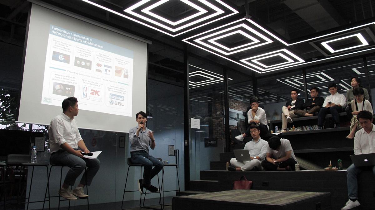 파트너스인베스트먼트 강동민 수석팀장(왼쪽), 콩두컴퍼니 서경종 대표(오른쪽) ©손현