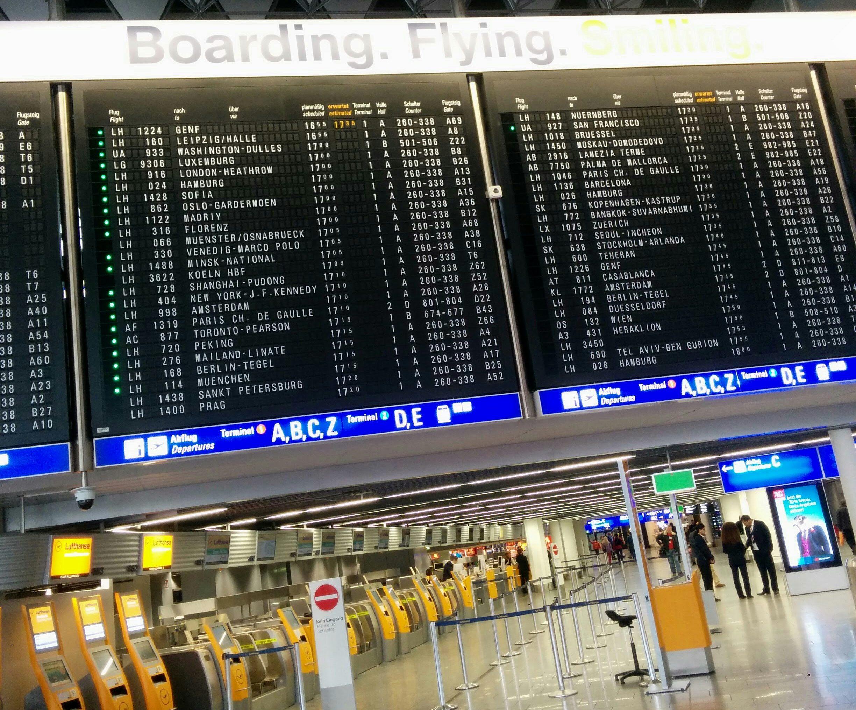 프랑크푸르트를 떠나며 공항에서 ⓒPUBLY