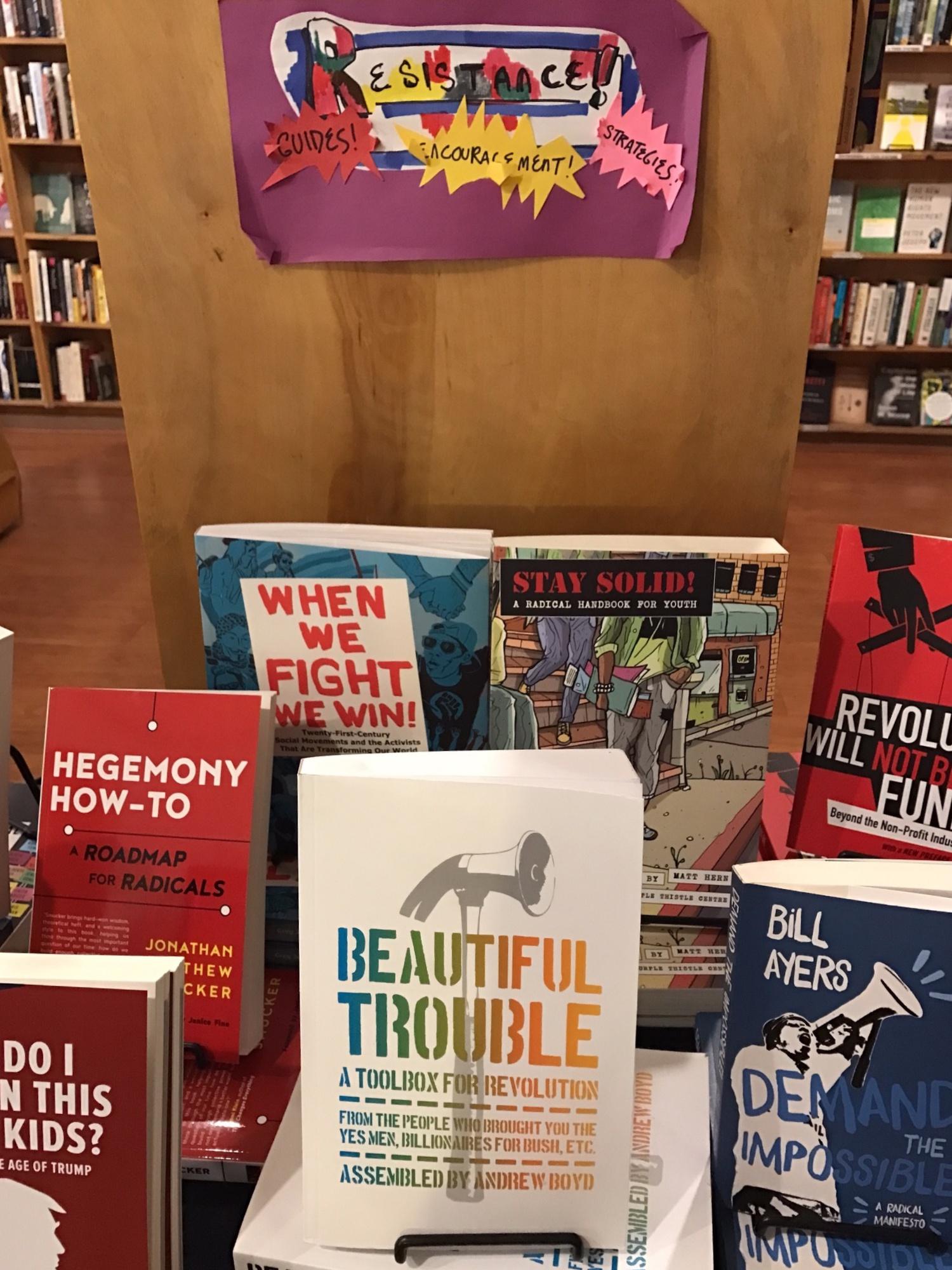 특별히 더 반항하는 책들 ⓒ안유정