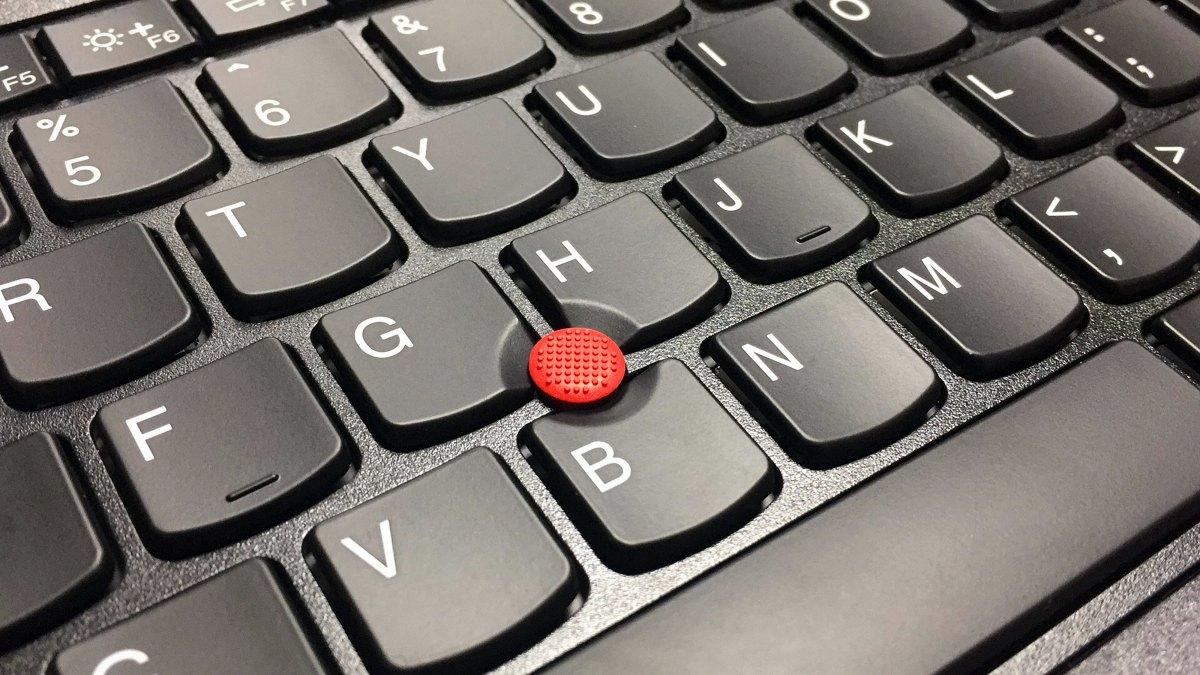 빨간 색 트랙포인트(TrackPoint)로도 유명한 씽크패드