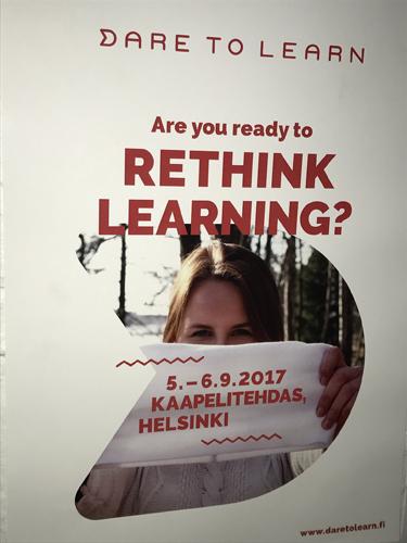 배움을 다시 생각할 준비가 되었습니까? ©Dare to Learn