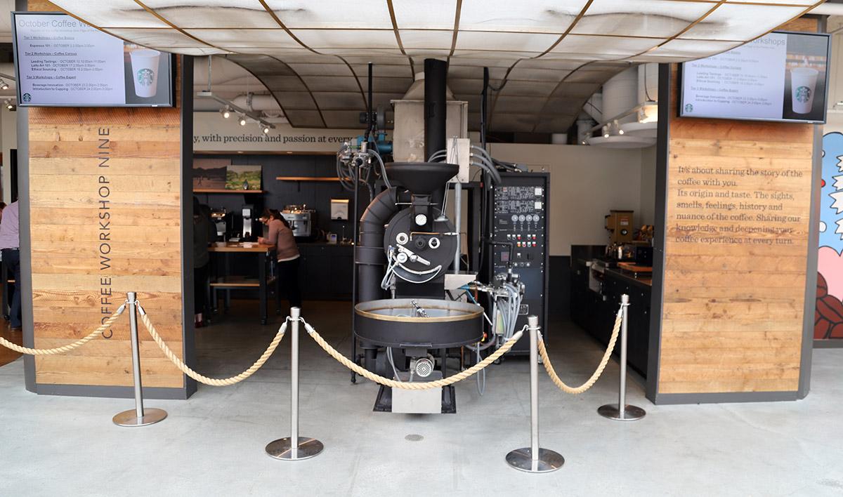 회사 곳곳에는 커피 관련 기계들이 놓여 있다. ©이은재