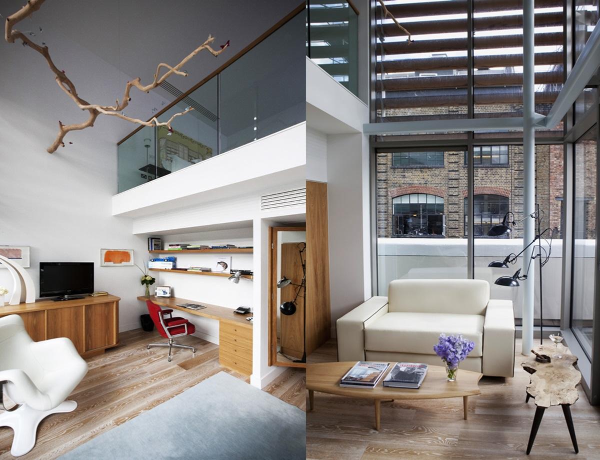 바운더리 17개의 룸 중 테렌스 콘란이 직접 디자인한 테렌스 콘란 스위트룸(Terence Conran Suite)의 전경 ©Paul Raeside