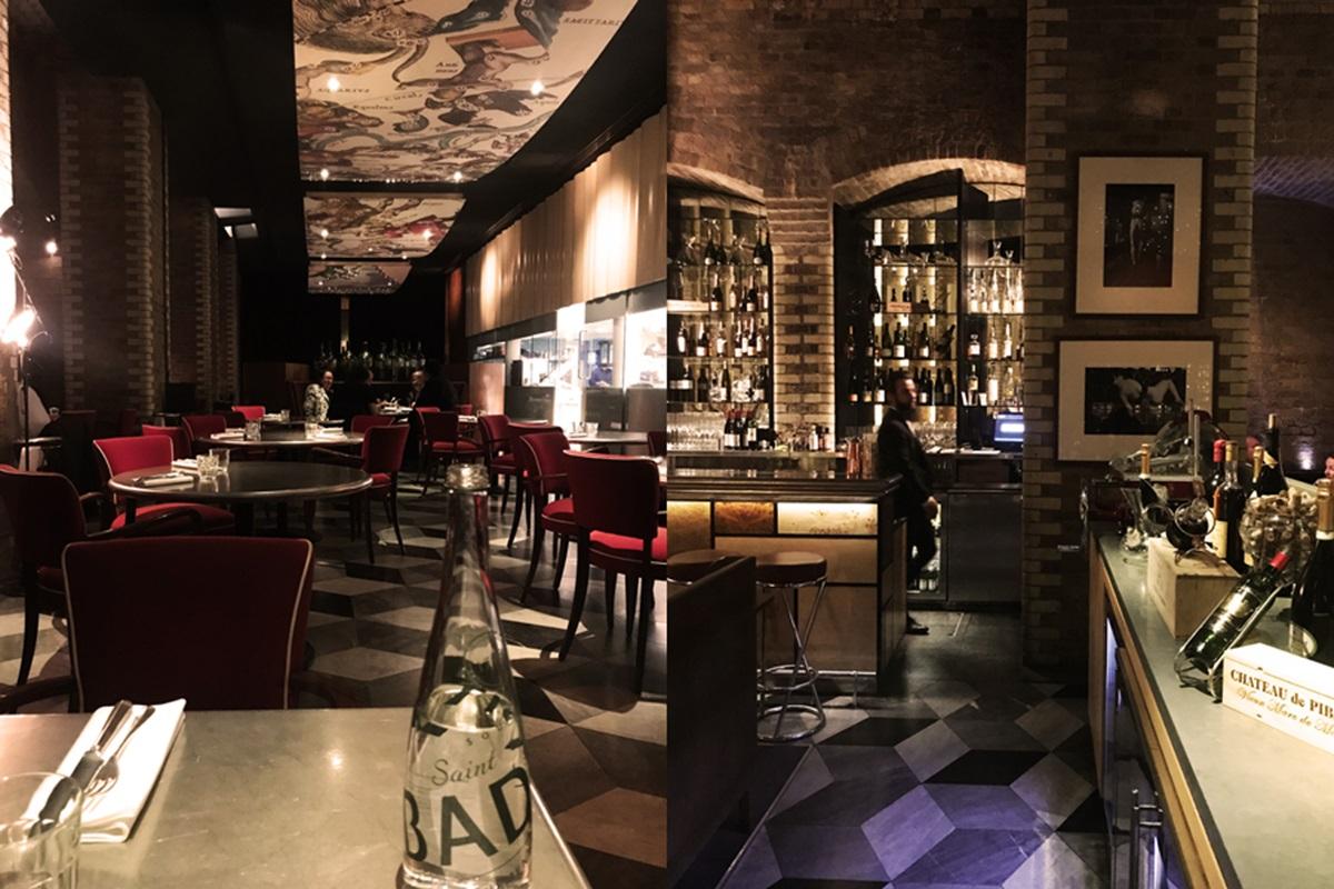 트라트라의 전경. 입구의 고급스러운 바 공간과 안쪽의 레스토랑 공간으로 나누어져 있다. ©김양아