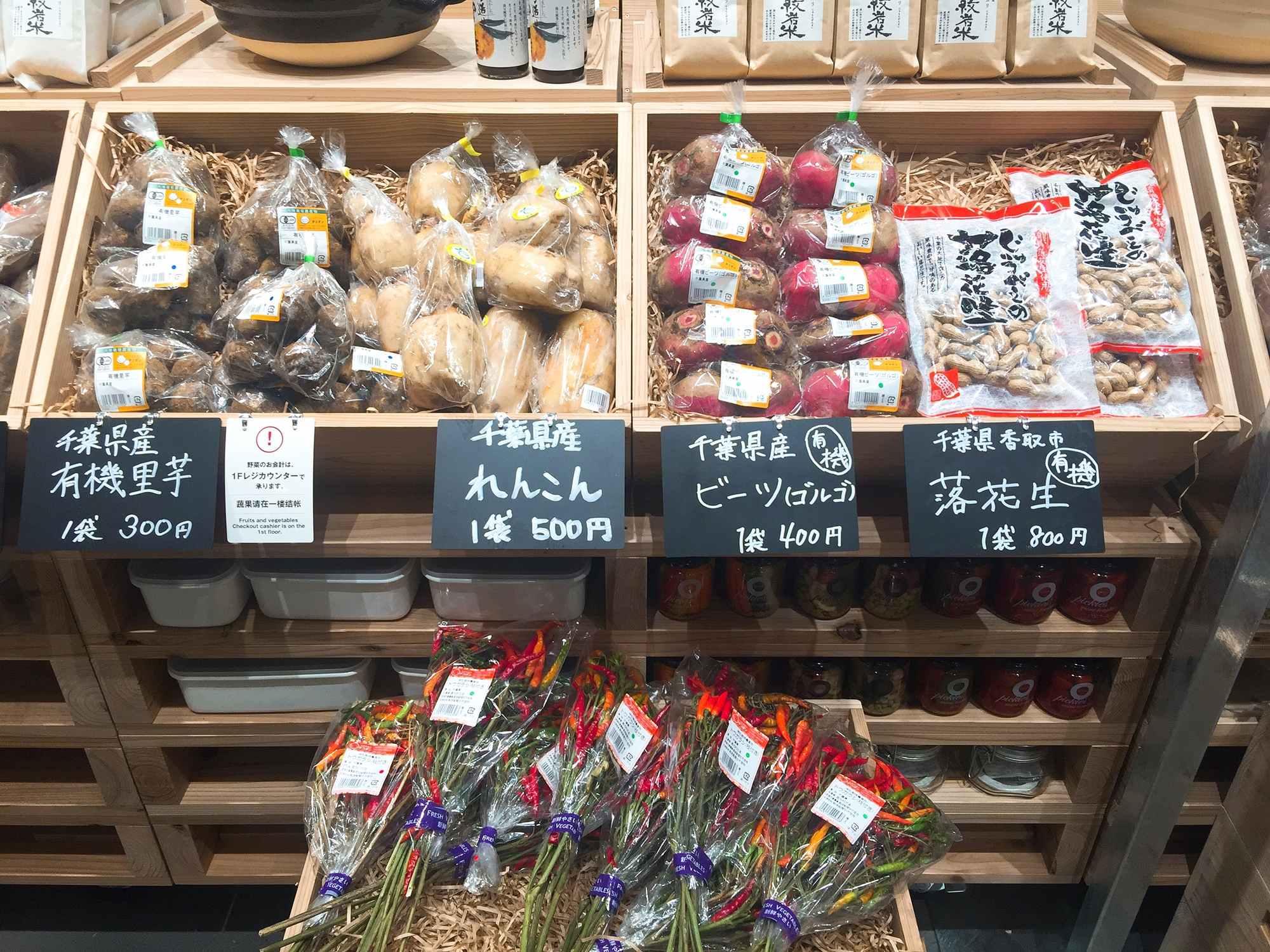 무인양품이 직접 산지 직송으로 가져오는 농산물 ©생각노트