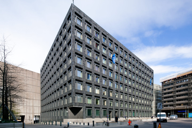 스톡홀름에 위치한 스웨덴 중앙은행인 Riksbank 전경. 세계에서 가장 오래된 중앙은행이자, 세계 최초로 지폐를 발행한 은행이다. 또한, 세계 최초로 중앙은행 주도의 가상화폐 발행을 금년 내 결정하고 추진할 것으로 전망된다. ©Riksbank