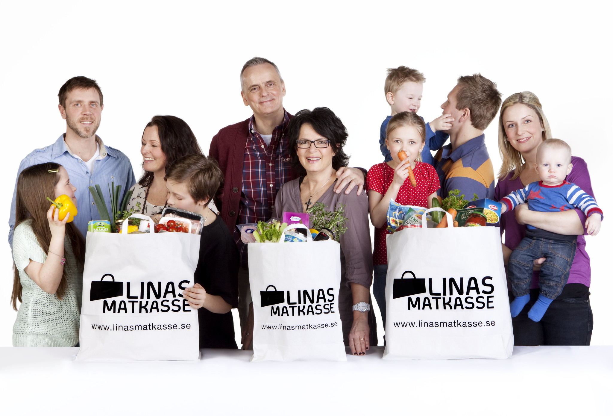 스웨덴의 스타트업 Linas Matkasse는 음식 조리법과 이에 맞춰진 정량의 식자재를 정기적으로 배송해주는 밀 키트 스타트업 서비스의 원조이다. ©Linas Matkasse