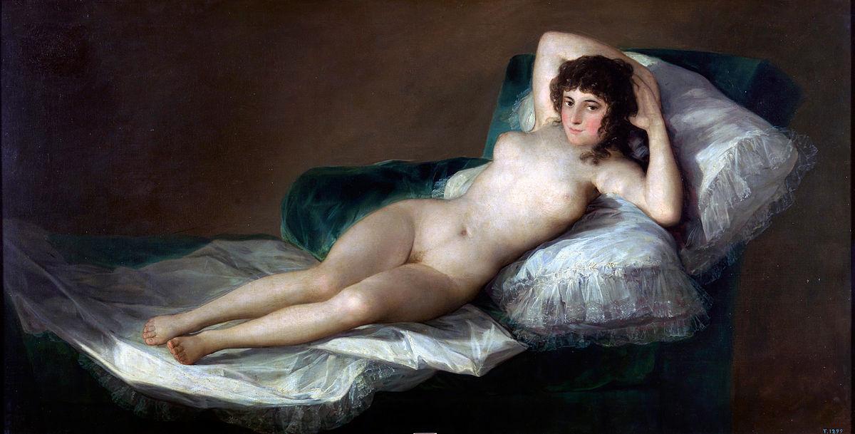 Francisco de Goya, La maja desnuda(1795-1800)