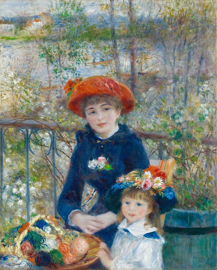 Pierre-Auguste Renoir, Two Sisters(1881)