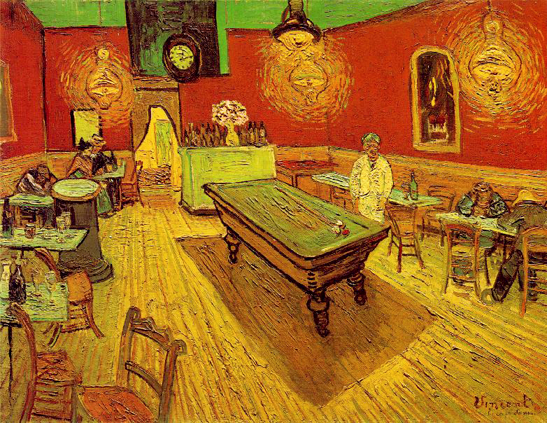 Vincent van Gogh, The Night Café(1888)