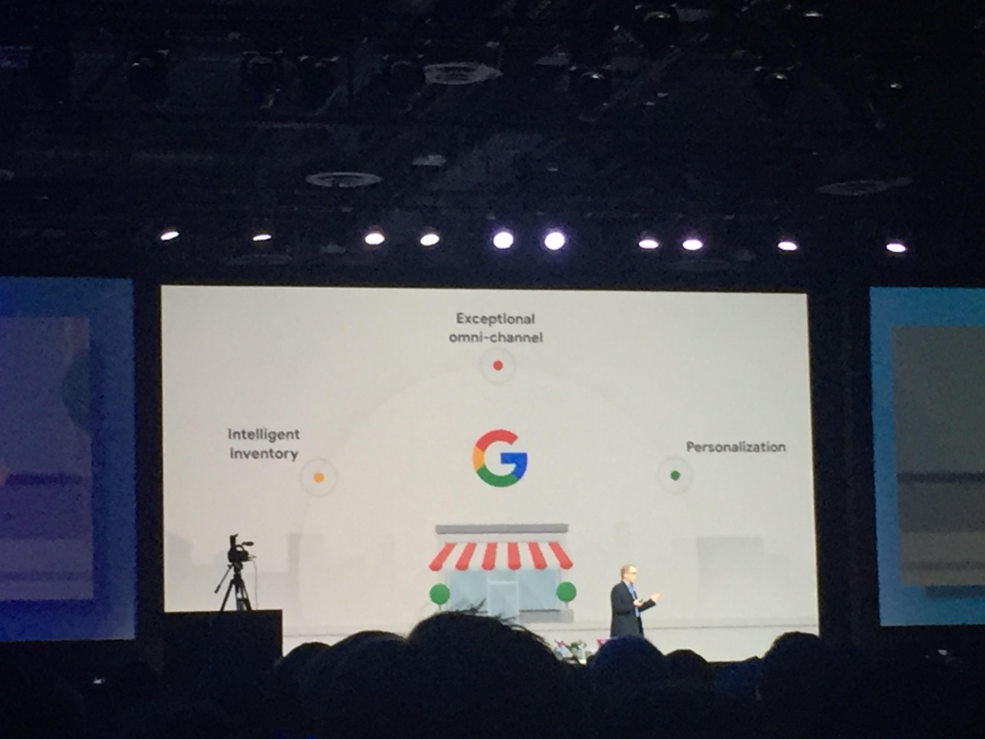 구글과 리테일의 협력 기회를 소개하는 다니엘 알레그레(Daniel Alegre) 구글 리테일/쇼핑 부문 사장 ©김수영