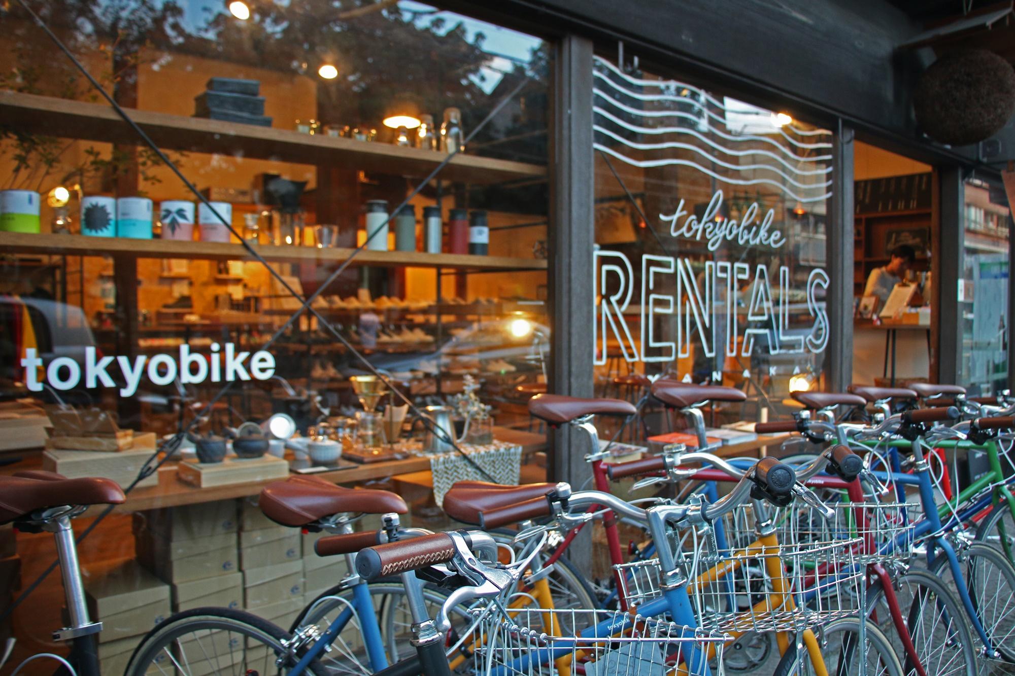 도쿄바이크 렌털스 야나카(Tokyobike Rentals Yanaka) 전경 ⓒ유소라