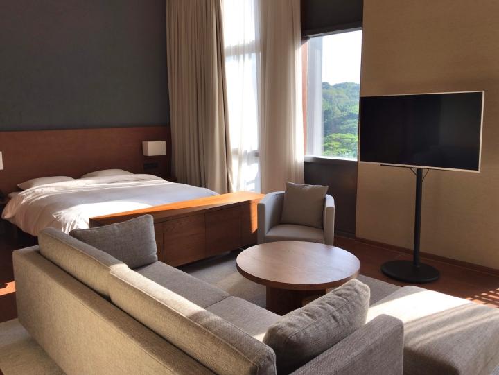 무지 호텔 객실 ©이승준
