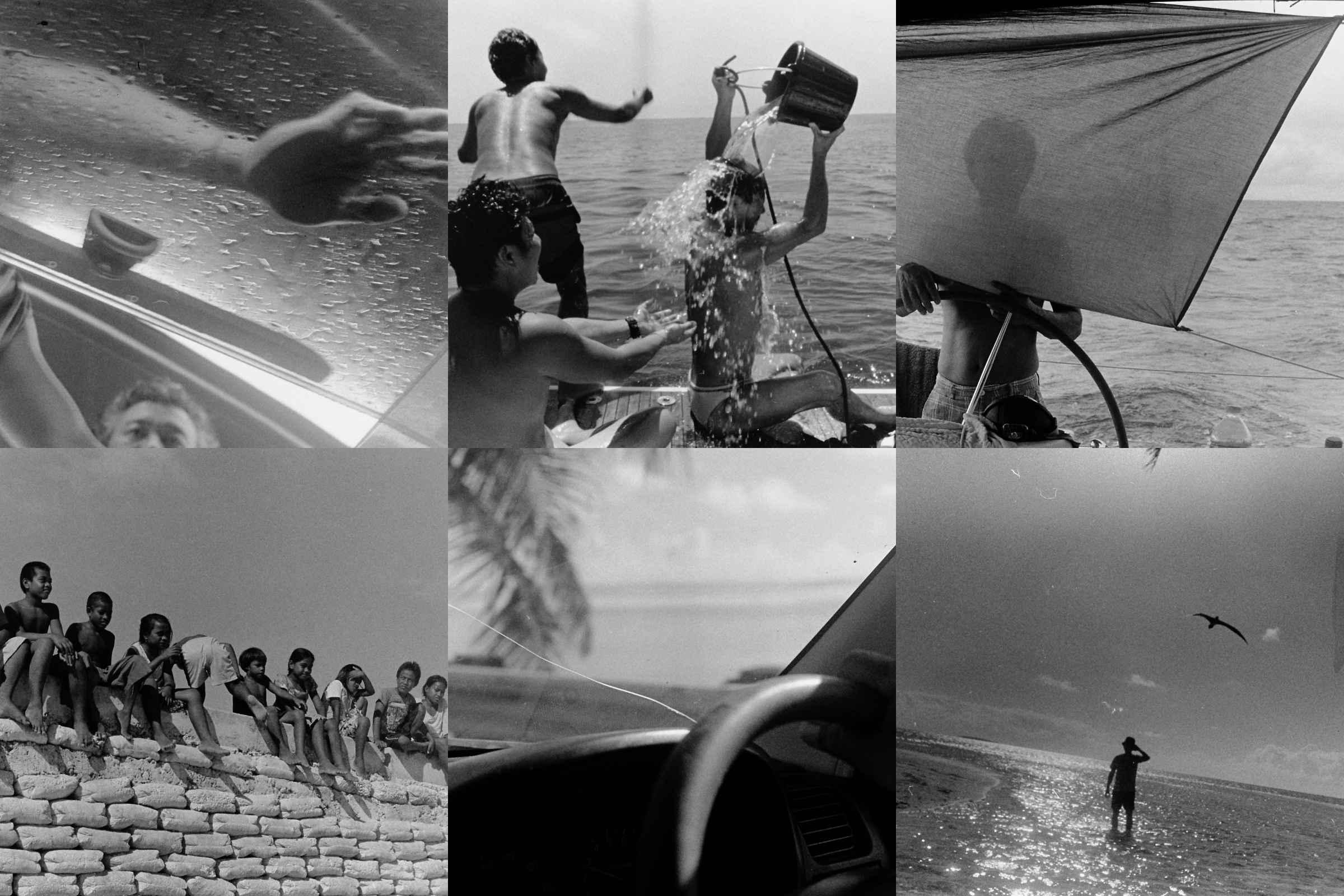 * 두 번의 태평양 항해 동안 찍은 사진 © 임수민