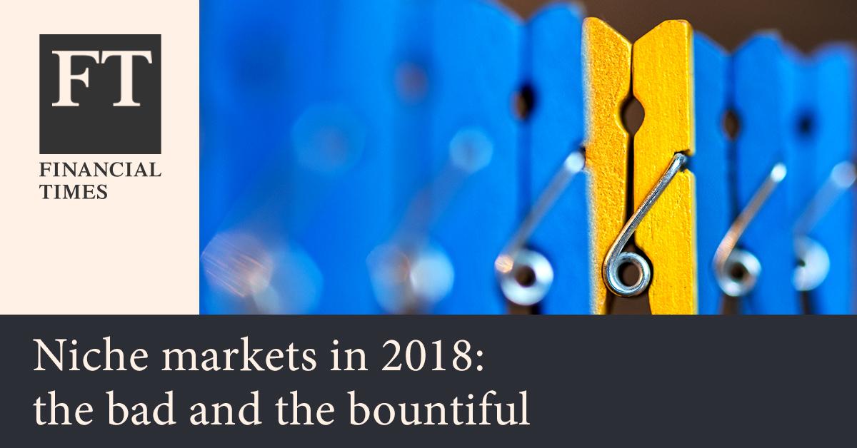 파이낸셜 타임스 - FT가 선정한 이색 투자 상품: 2018년 틈새 금융시장 리뷰