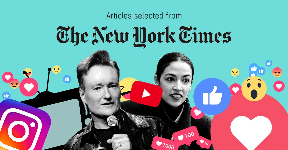 뉴욕타임스 - 퍼블리 큐레이터가 선정한 뉴스 [2019년 1월 4주]