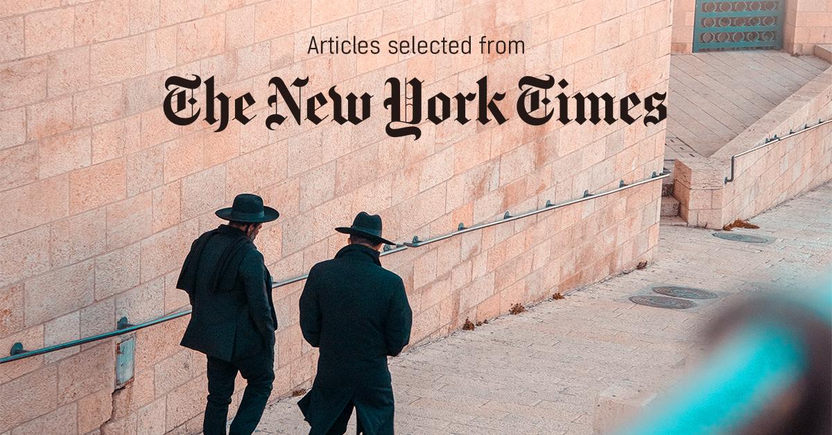 뉴욕타임스 - PUBLY 큐레이터가 선정한 뉴스 [2019년 4월 1주]