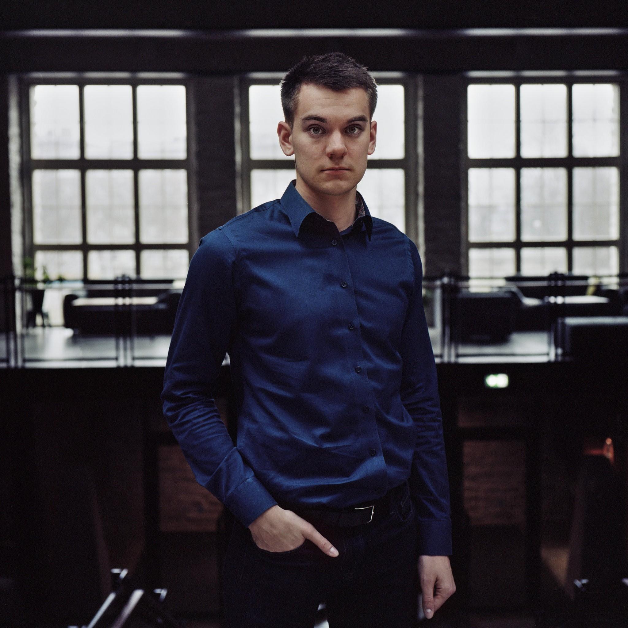 볼트는 대학을 중퇴한 19세 청년 마커스 빌리그가 창업한 회사다. ⓒMaxim Mjodov for The New York Times