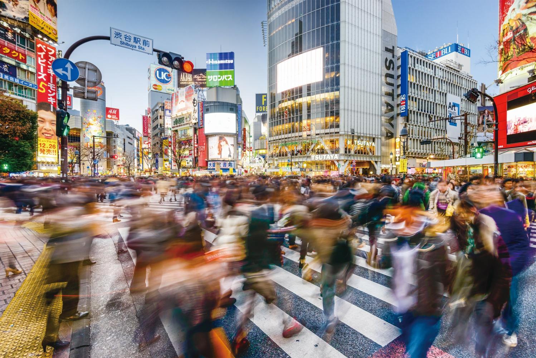 도쿄의 거리 풍경 ⓒShutterstock