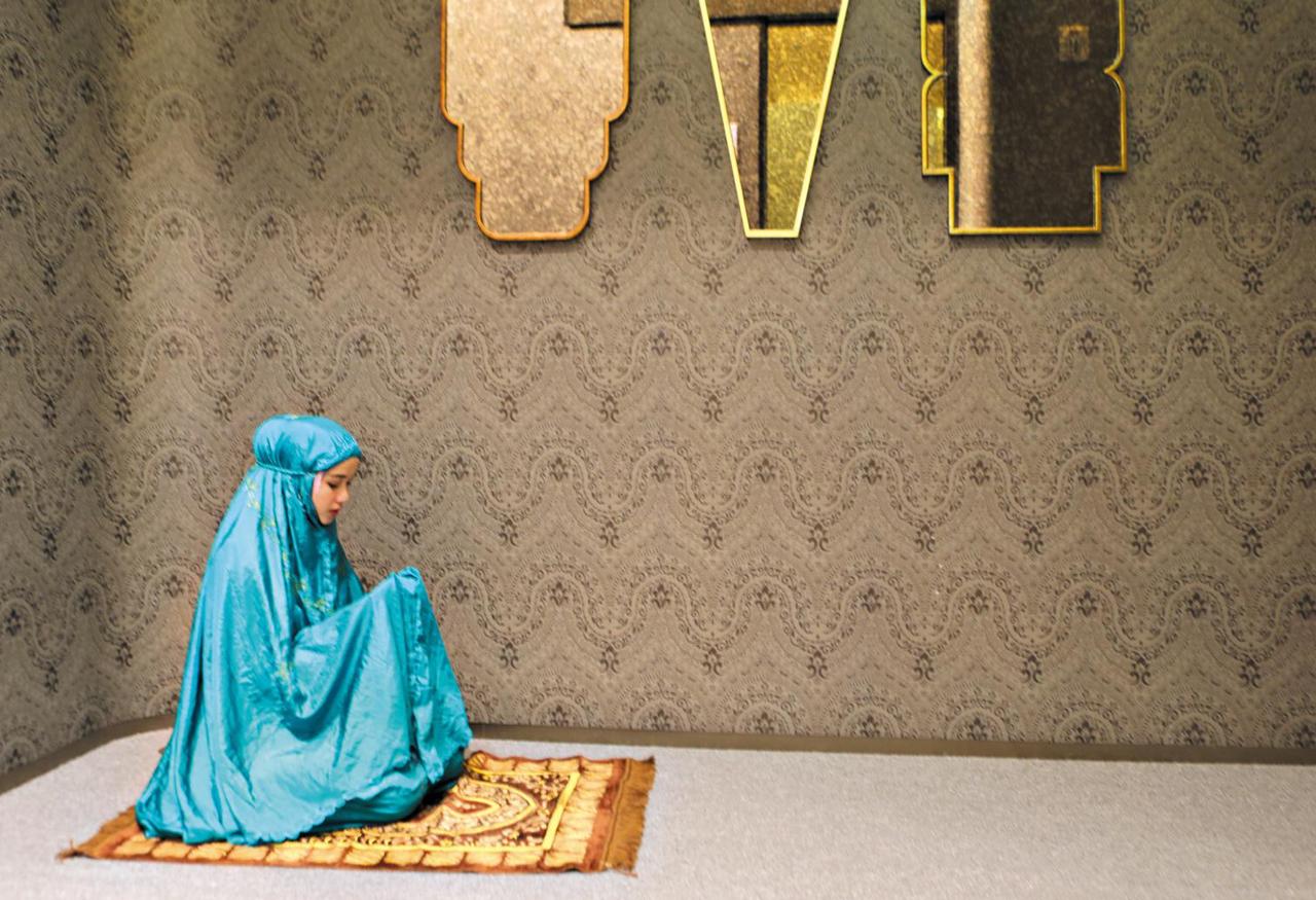 2017년 가을 서울 잠실 롯데백화점 에비뉴엘관 6층에 이슬람 기도실이 문을 열었다. ⓒ롯데백화점