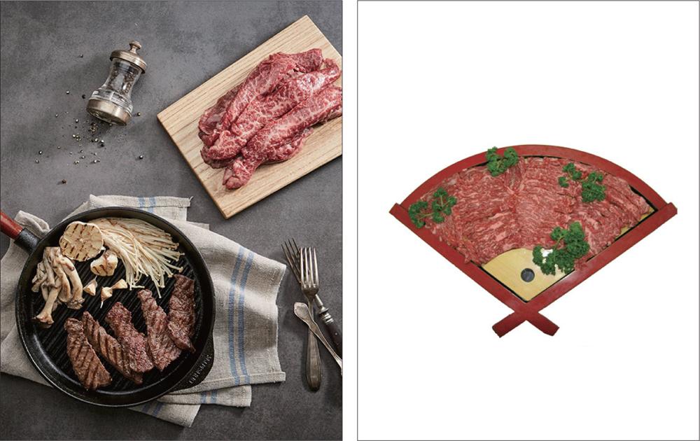 두 온라인 마켓이 소고기를 판매하는 방식 ⓒ북스톤