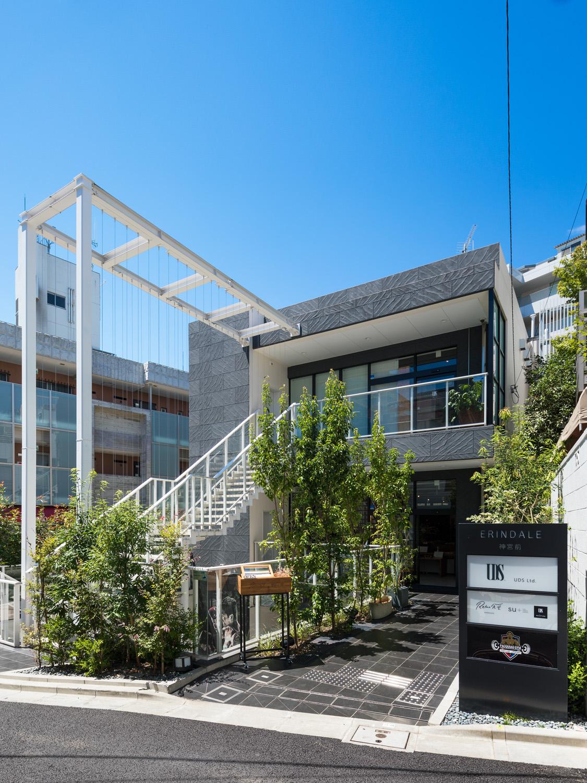 UDS 도쿄 오피스, 1층은 지역주민이 직원들과 함께 이용할 수 있는 식당 '릴랙스 쇼쿠도'다. ©UDS
