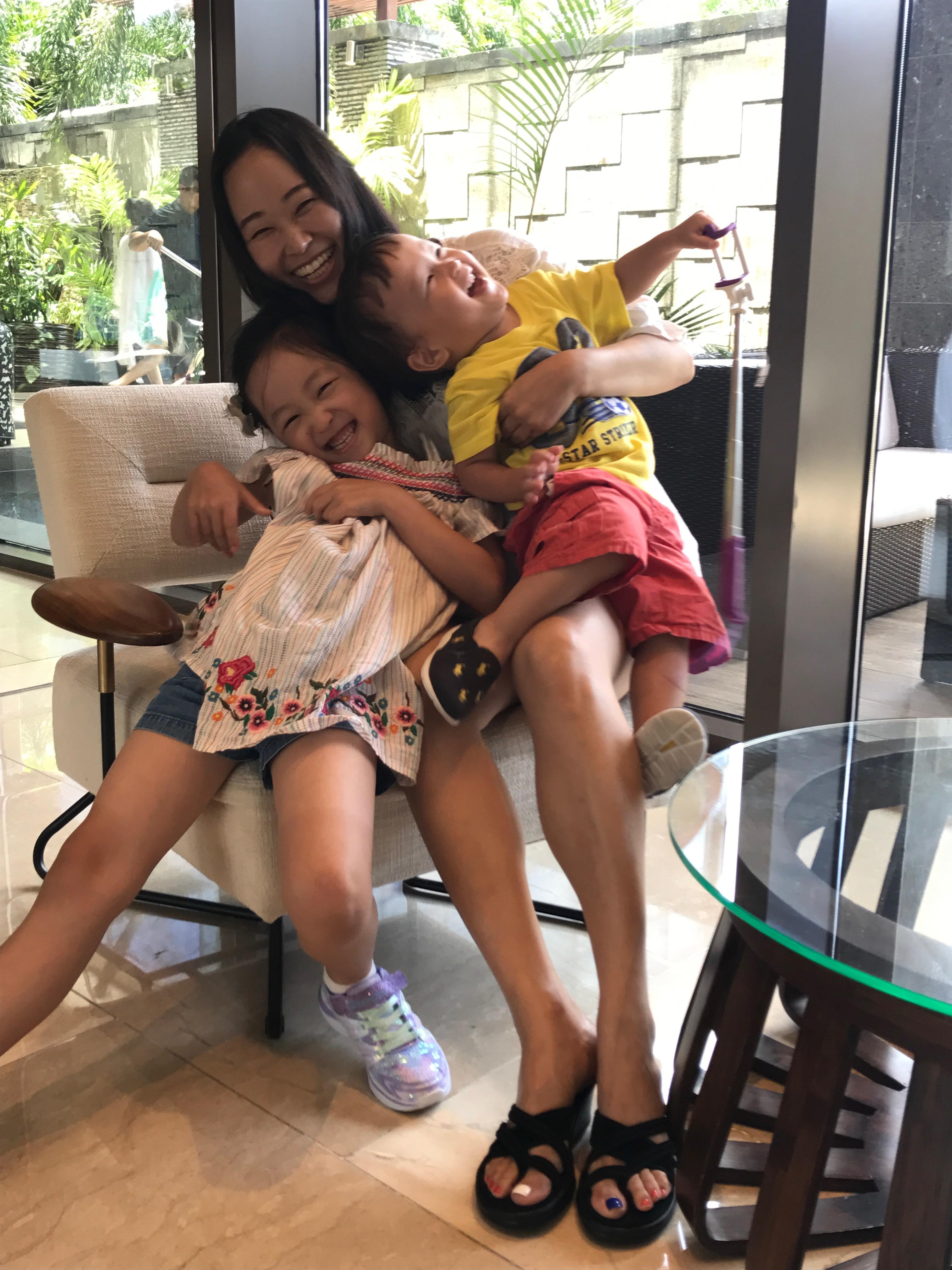 김대우 매니저의 가장 큰 행복의 원천이 되어주는 가족 ⓒ김대우