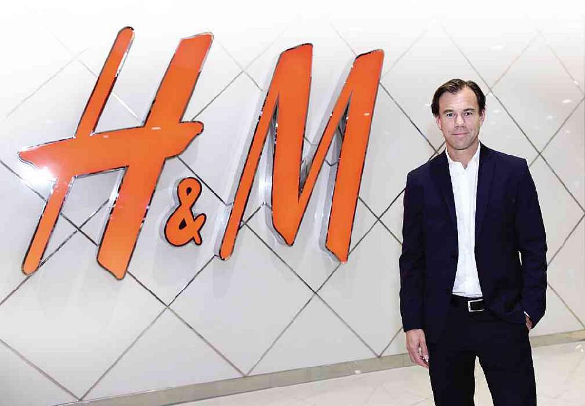 카를 요한 페르손, H&M 최고경영자(CEO) ⓒH&M