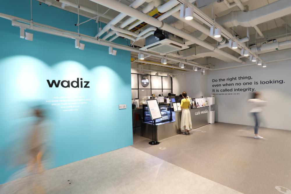 와디즈 본사 컬처센터 내부 모습 ©와디즈