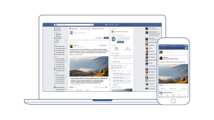 페이스북의 뉴스피드 기능 ⓒ한스미디어