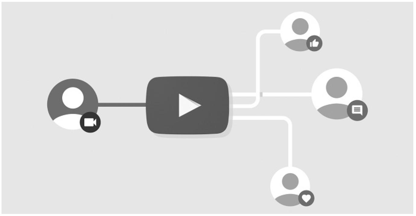 유튜브는 플랫폼이 갖춰야 할 모든 요소를 모두 갖고 있다. ⓒ한스미디어
