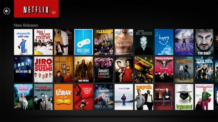 넷플릭스는 영화라는 콘텐츠를 소비하는 새로운 방식을 정착시켰다. ⓒ한스미디어